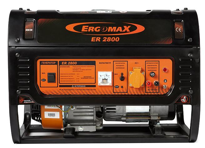 Бензиновый генератор ergomax er 1200 ergomax
