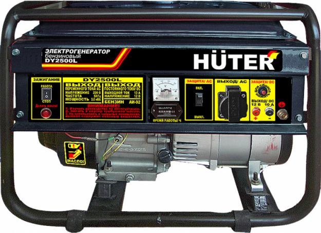 Бензиновый генератор huter dy6500lxw генератор